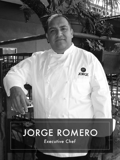 Jorge Romero Executive chef in Michaels Cuisine