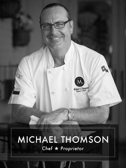 Michael Thomson Chef & Proprietor of Michaels Cuisine