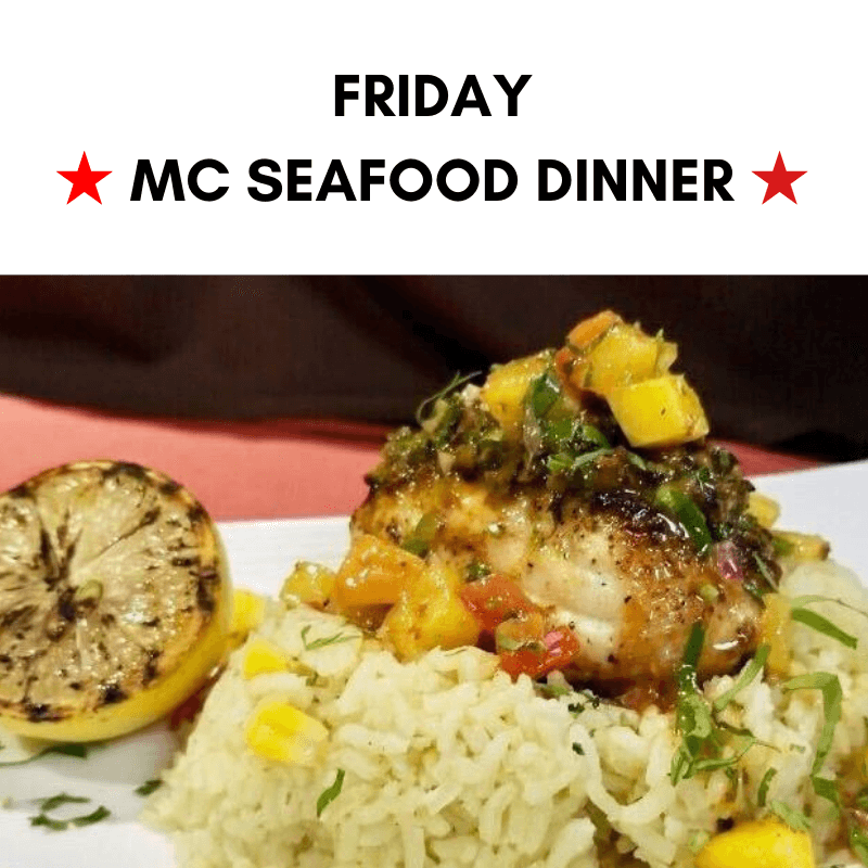 Friday - MC Seafood Dinner
